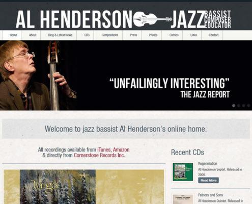 Al Henderson Bassist