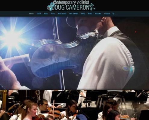 Violinist Doug Cameron