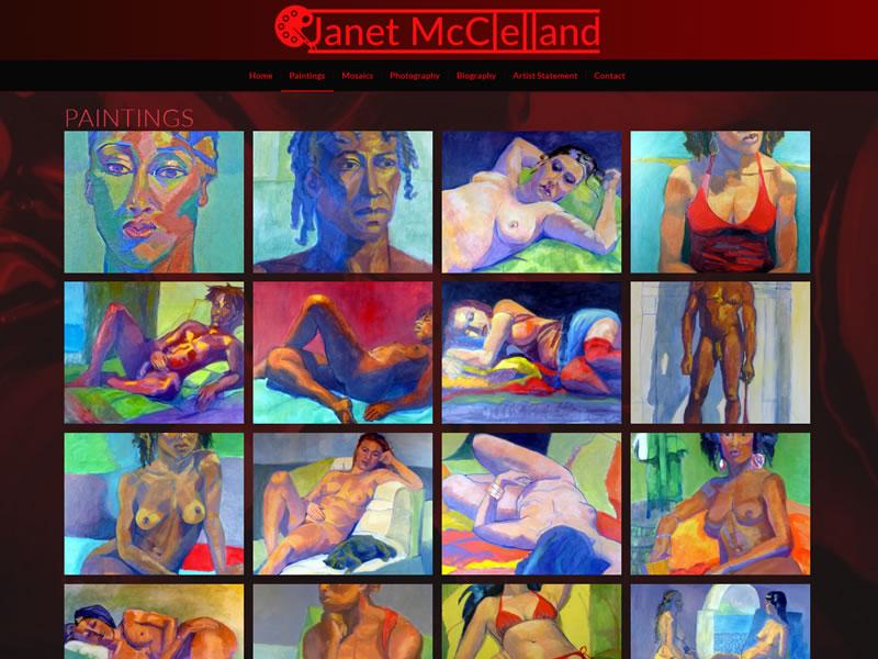 Artist Janet McClelland