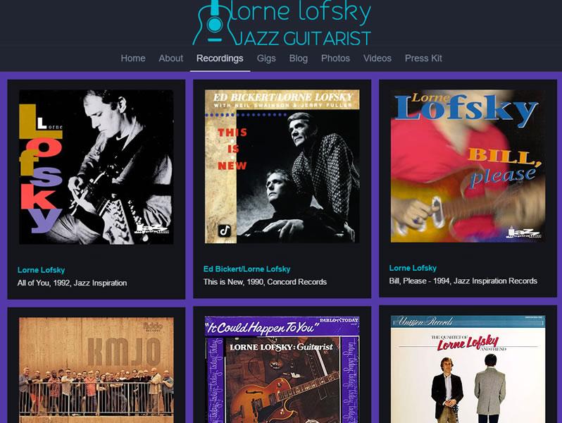 Jazz Guitarist Lorne Lofsky