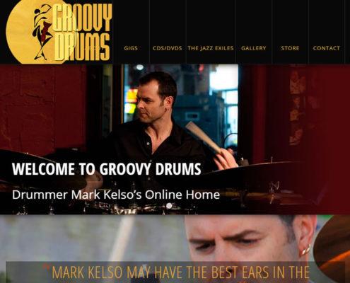 Drummer Mark Kelso