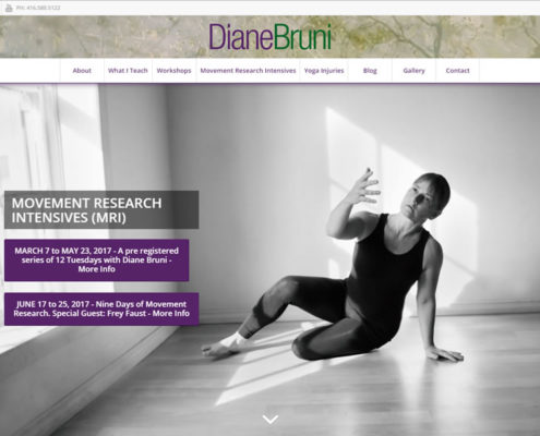 Yoga Instructor Diane Bruni