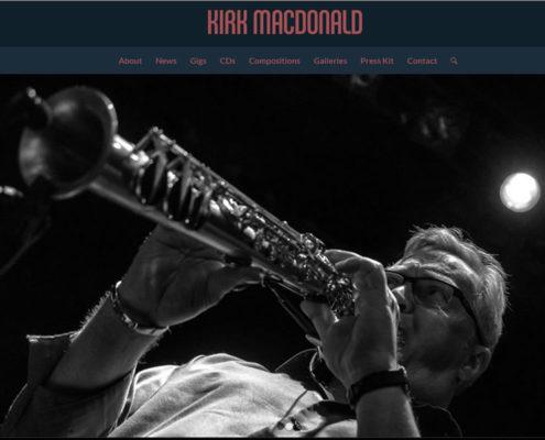 Jazz Saxophonist Kirk MacDonald