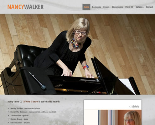 Nancy Walker Jazz Pianist
